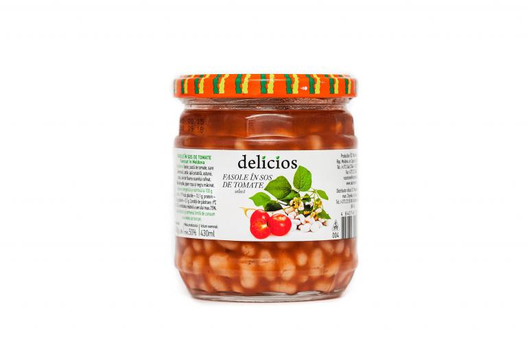 Fasole-in-sos-de-tomate-Delicios-430-ml